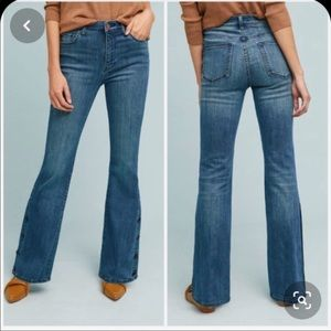 Pilcro Anthropologie High Rise Bootcut Jeans